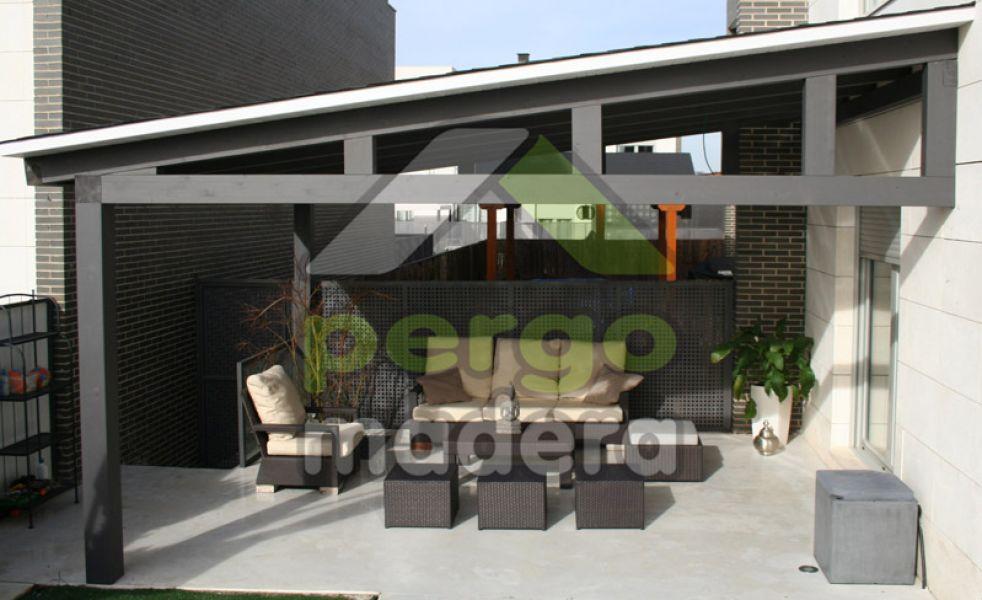 Porches de madera de exterior - Porches de madera valencia ...