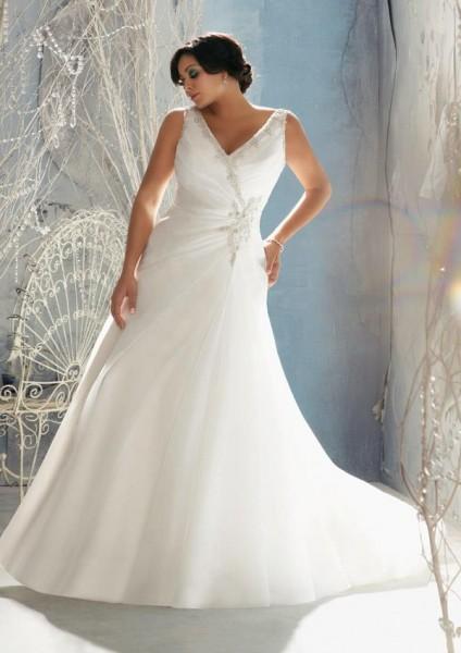 Vestidos de novia tallas grandes 2016