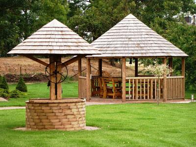 Cenadores de madera pergolas porches - Pergolas y porches de madera ...