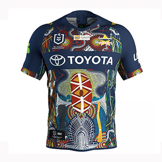 Camiseta North Queensland Cowboys Rugby 2019