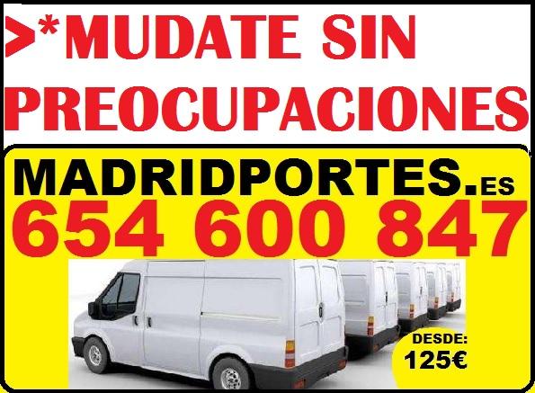 Portes economicos en las rozas de madrid 913 689 819 for Mudanzas en las rozas