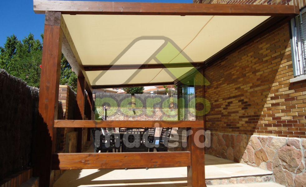 P rgolas de madera acristalada - Pergolas de madera en sevilla ...