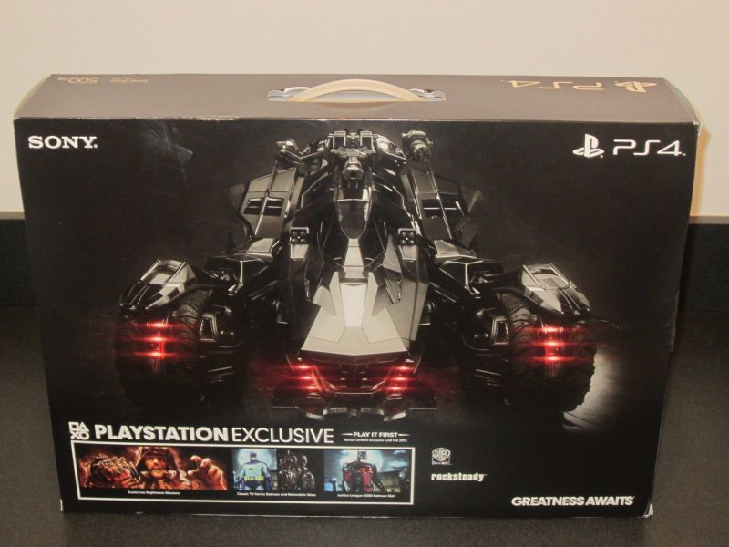 Playstation 4 Batman Arkham Knight Kit de consola de edición limitada de 500 GB