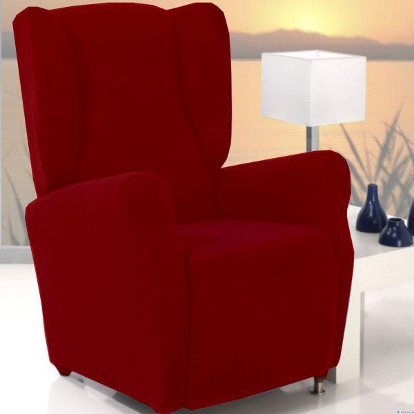 Fundas el sticas para sillones orejero de 1 plaza for Sillones de 1 plaza baratos