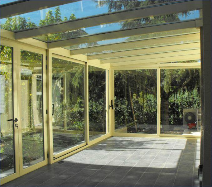 Cerramientos de jard n y exteriores en aluminio for Cerramientos de jardin