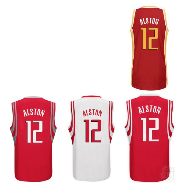 Camiseta Houston Rockets Howard Rojo