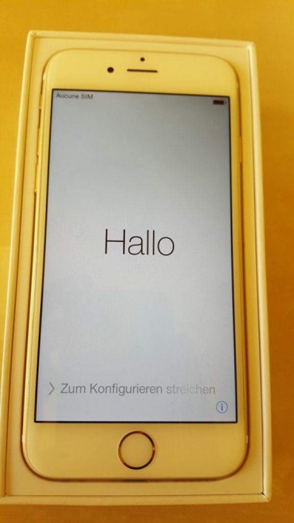 IPhone 6 128 GB oro