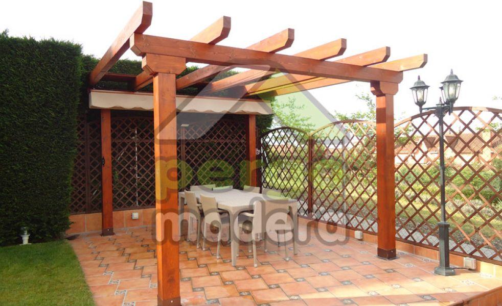 Pérgolas de madera de exterior - photo#40