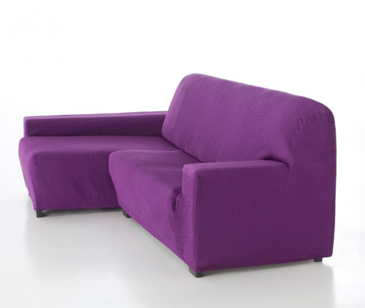 Fundas el sticas para sof s chaise longue - Fundas sofa madrid ...