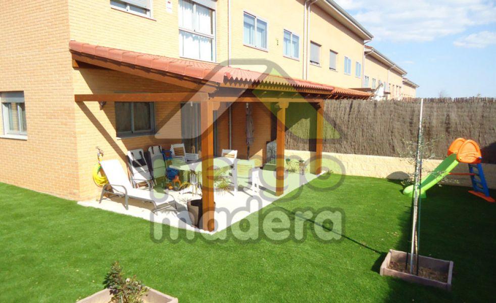 Porches de madera de exterior - Madera para porches ...