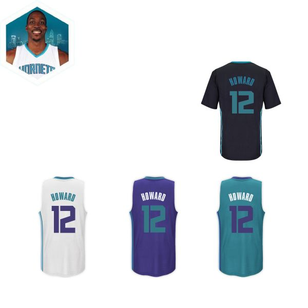 Camiseta Charlotte Hornets Howard