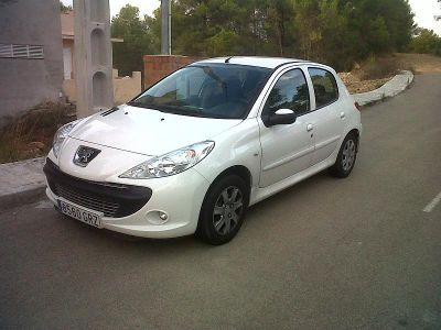 VENDO PEUGEOT 206+ COLOR BLANCO