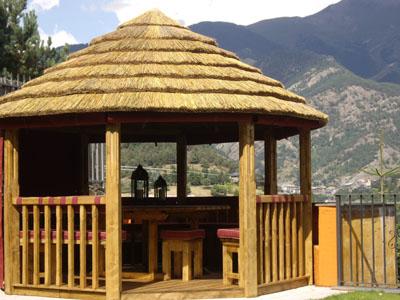 Cenadores de madera pergolas porches - Pergolas de madera en sevilla ...