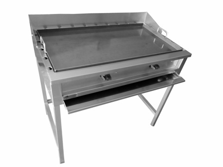 Venta de plancha en acero inoxidable for Plancha industrial